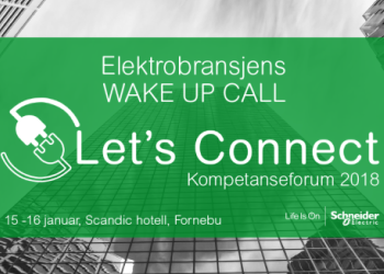 Schneider Electric| Elektrobransjens Wake-up Call